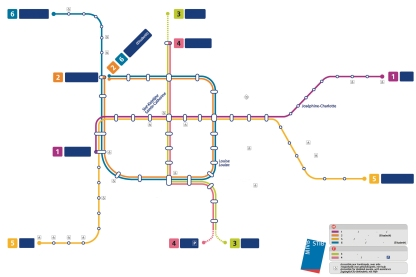 plan metro bxl